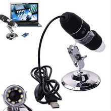 Wholesale Roll over image to zoom in Share This:      1-1000X 8 LED HD Digital Microscope USB Magnifier with Measurement