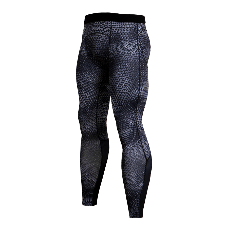 New Men Quick Dry Sport Pant Trainning Exercise Sweatpants Trousers Flexible Skinny Rashguard Tights Fitness MMA Gym Sport Pants