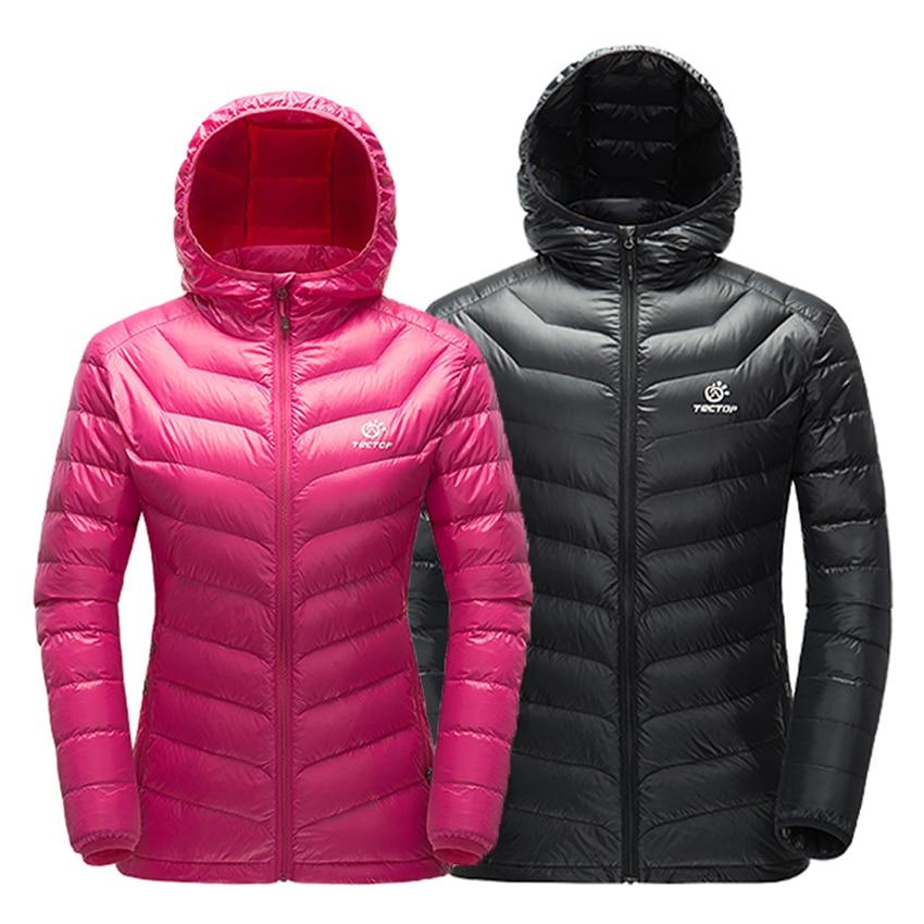 New Men Women Winter Thermal Ultralight Down Jacket Outdoor Hooded Windproof Parka Hiking Camping Climbing Trekking Coat VA316
