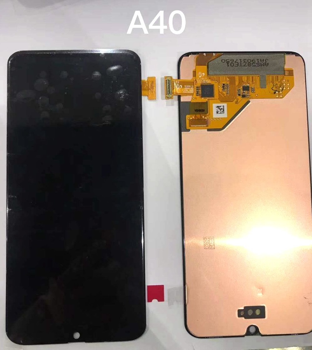 2019 Super Amoled For <font><b>Samsung</b></font> Galaxy <font><b>A40</b></font> A405 A405F/DS <font><b>Lcd</b></font> screen Display WIth Touch Glass Assembly image