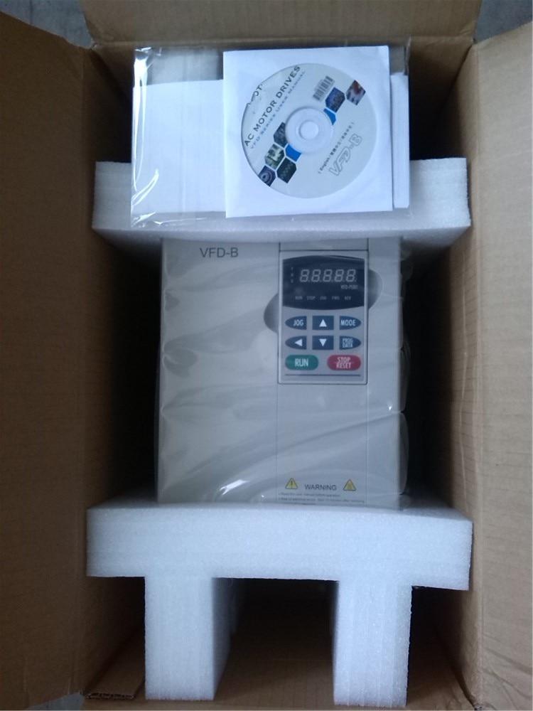 VFD110B23A VFD-B VFD Inversor de Freqüência conversor 11kw 15HP 3 FASE 220 V 400 HZ tipo vetor Geral