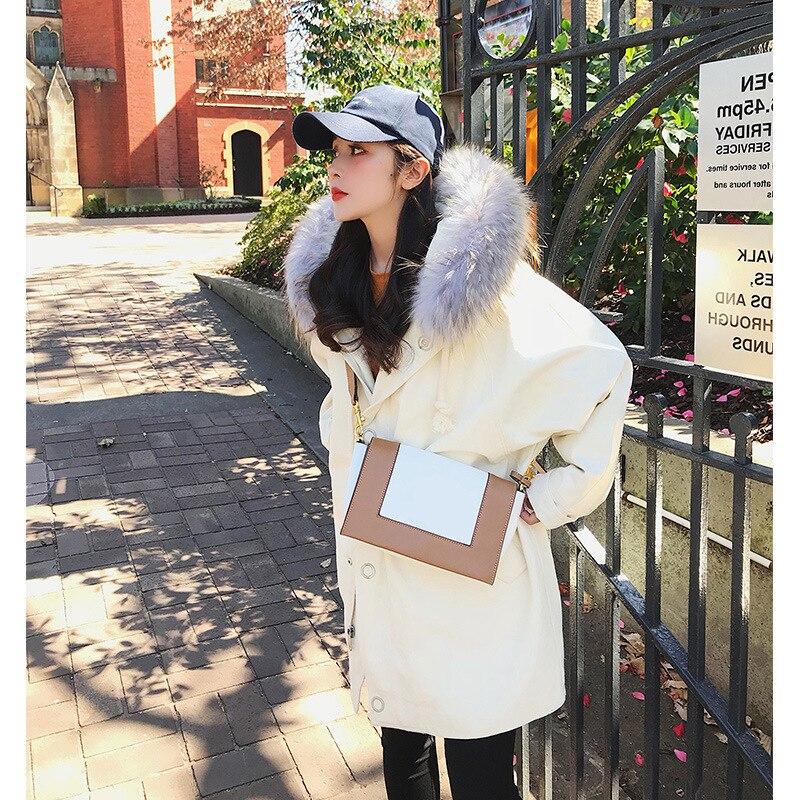 Vêtements De Fourrure D'hiver 1 Manteau 3 Coton À Col En Femmes 2 Peluche Simple Acj4RS3L5q
