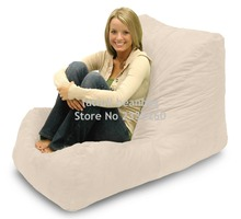COVER ONLY no filler #8211 living room furniture sofa chair #8211 outdoor polyester bean bag sofas waterproof beanbag chairs cheap Home Furniture Living Room Set Fabric runboy L - 15 Europe And America China solid color Modern