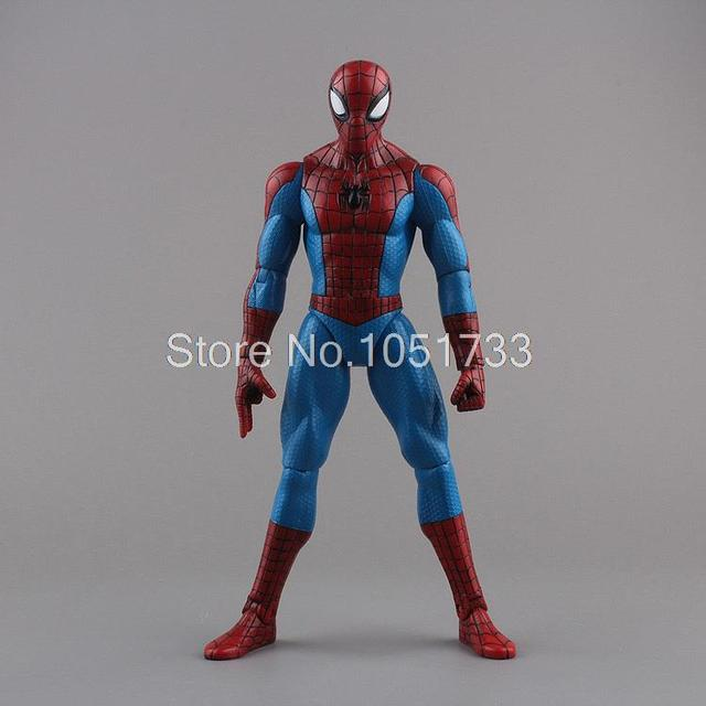 """Spiderman Toys Marvel Superhero The Amazing Spider-man PVC Action Figure Collectible Model Toy 8"""" 20CM Free Shipping HRFG255"""