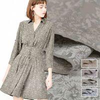 Advanced Customization Multicolor Cotton Silk Fabric Fashion Jacquard Mulberry Silk Fabric For Dress Cloth Costura Vestidos DIY