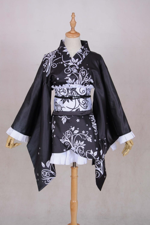 Anime Yosuga No Sora Sora Kasugano Kimono Lolita Kleid Halloween Cosplay Kostüm...