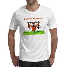 Duck Hunt T-shirt Nostalgic FC Console Game Rock Casual Pop T Shirt Fashion Creative Novelty Women Men Top