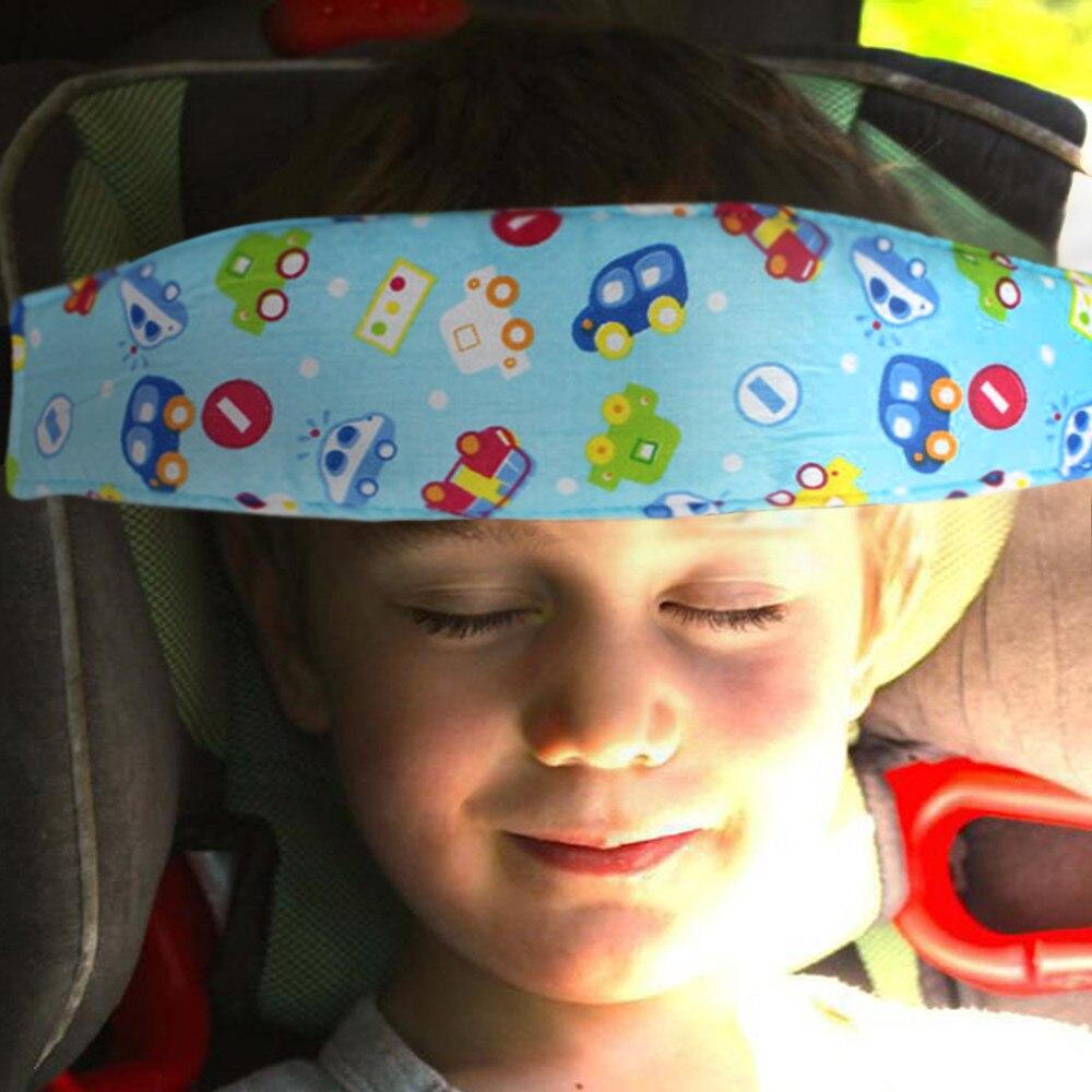 1PC Playpens Sleep Positioner Pram Stroller Safety Seat Fastening Belt Blue car