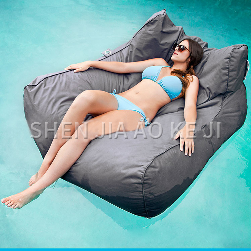 Lazy Bean Bag Sofa Water Swimming Bed Double Oversized Sofa Multifunctional Practical Colorful Lazy Sofa 1PC