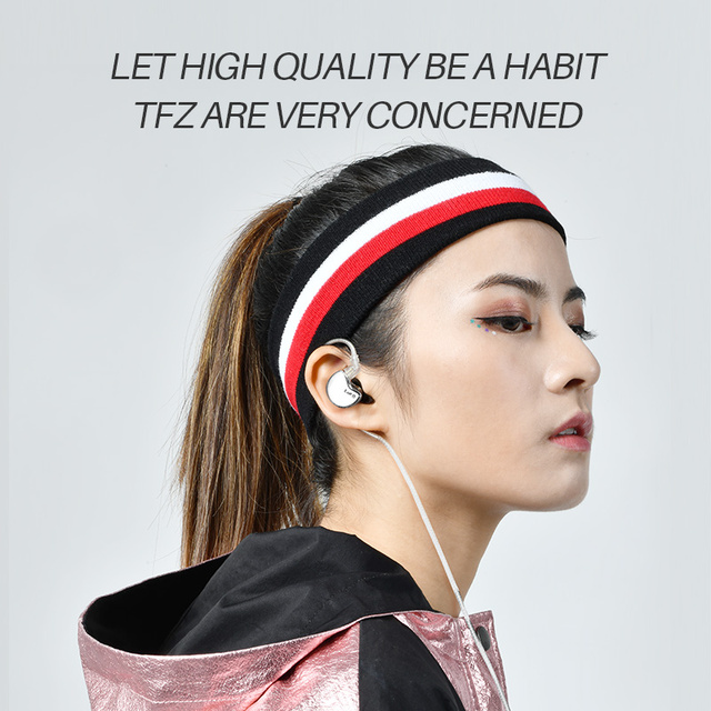 TFZ/No.3 Third Generation Unit In-Ear Headphones, Dynamic Driver 0.78 mm 2pin IEMs Transparent HiFi Detachable headphone 3