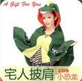 Albornoz cosplay dinosaurio Disfraces Gasa capa Cardigan Chaqueta de Casa de Baño Traje Pijama Kimono Japonés