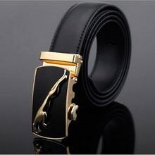 New 2016 Famous Brand Belt Men 100% Cowskin Genuine Luxury Leather Men's Belts for Men,Strap Male Metal Automatic Buckle