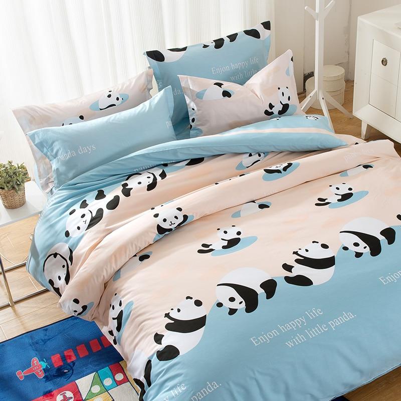 Online Buy Wholesale panda bed sheets from China panda bed