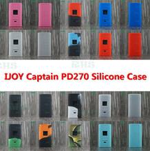 RHS silikonowego etui do IJOY Captain PD270 wysokiej jakości chińskie produkty IJOY Captain PD270 silikonowa obudowa tanie tanio 0-100 ml IJOY Captain PD270 silicone case Ekologiczne Butelki i słoiki przechowywania