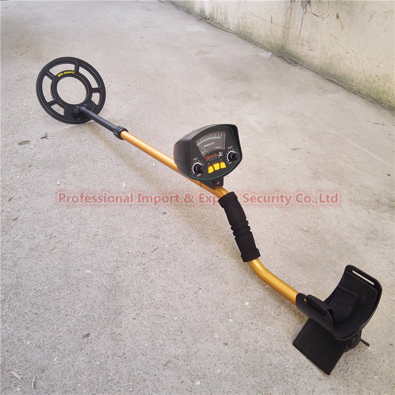 Professional Metal Detector MD3009II Underground Metal Detector Gold High Sensitivity and LCD Display MD-3009II Metal Detector