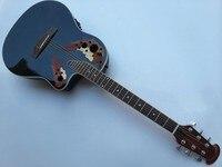 round back ovation acoustic electric guitar free shipping free hardcase