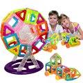 90 pçs/lote mini models & construção magnético blocos de construção de tijolos de plástico crianças brinquedo enlighten brinquedo magnético bloco designer de magnético