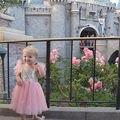 Blush Rosa y Vestido de Lentejuelas de Oro, Vestido de Cumpleaños de las muchachas, Vestido de Primavera Verano, Boutique de Ropa