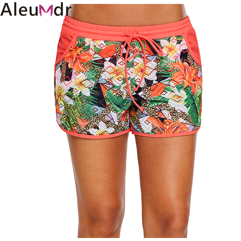 Aleumdr Board Shorts Swimwear Floral Print Lacy Shorts Attached Swim Bottom Swimming Trunks Tankini Skirt With Panty Lc410844 Nourishing The Kidneys Relieving Rheumatism Office & School Supplies