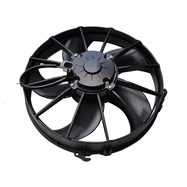 Bus Aircon Air Conditioning Condenser Auto Cooling Fan With Waterproof Plug Replace for SPAL VA01 BP70 BPLL 79S ACP070