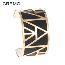 Cremo Georgette Trendy Cuff Bracelets Bangles for Woman Rose