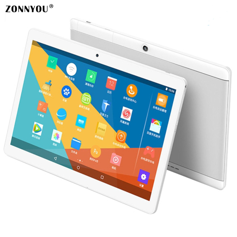 10.1 inch Tablet Pc Octa Core Phone 3G Call card 1280×800 Android 6.0 WiFi GPS Tablets PC Tablets Ultra Slim Dual SIM