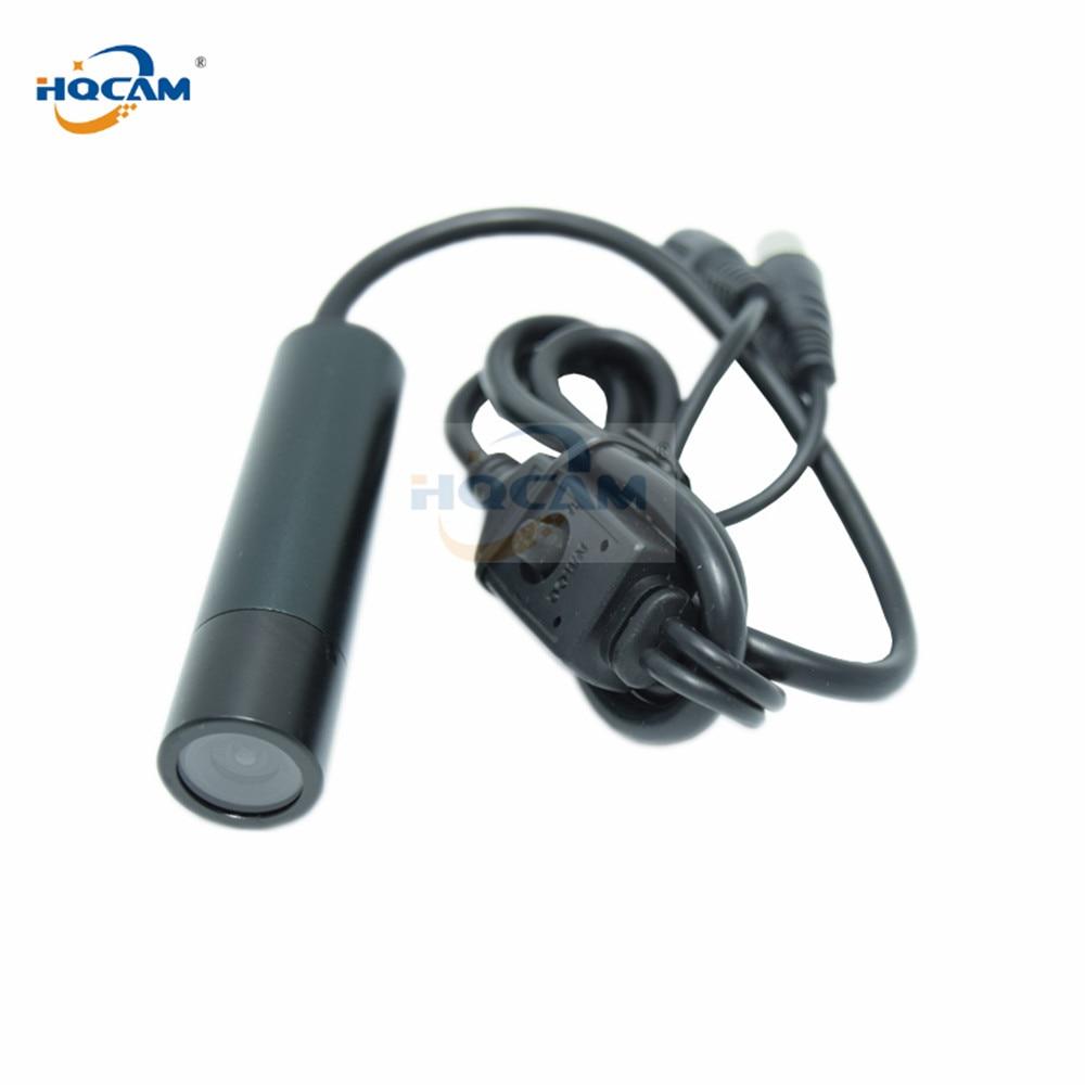 HQCAM 25mm lens SONY Effio-e 700TVL CCD Colo OSD menu Mini Bullet camera Outdoor Waterproof Security Camera 960H 4140+810\811