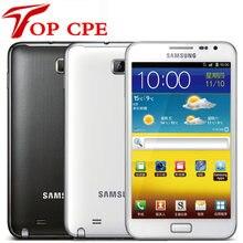 Samsung-teléfono inteligente Galaxy note i9220 n7000, versión de la UE, Dual Core, 5,3 pulgadas, Android, 8MP, Wifi, GPS, pantalla táctil reacondicionado