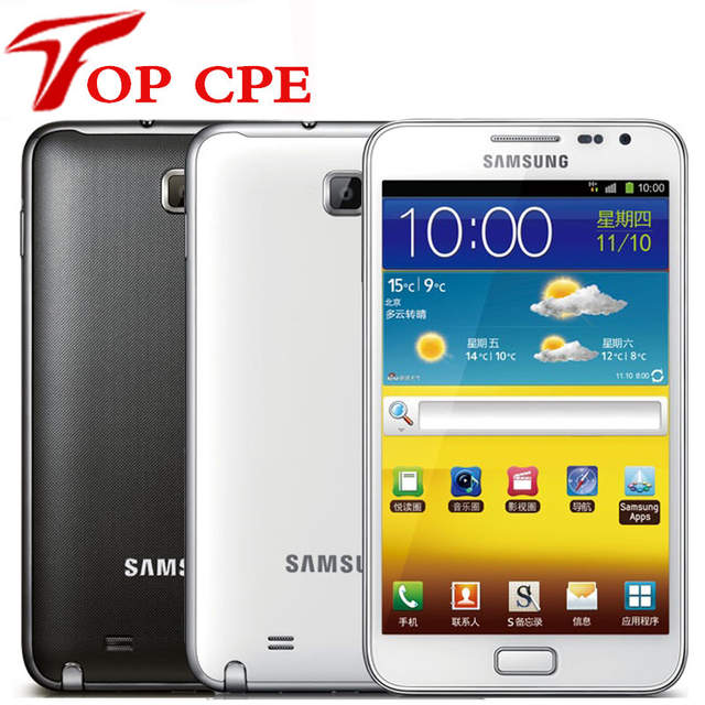 Original samsung Galaxy note i9220 n7000 EU version Dual Core 5 3'' Android  cell phone 8MP Wifi GPS touch SCreen Refurbished