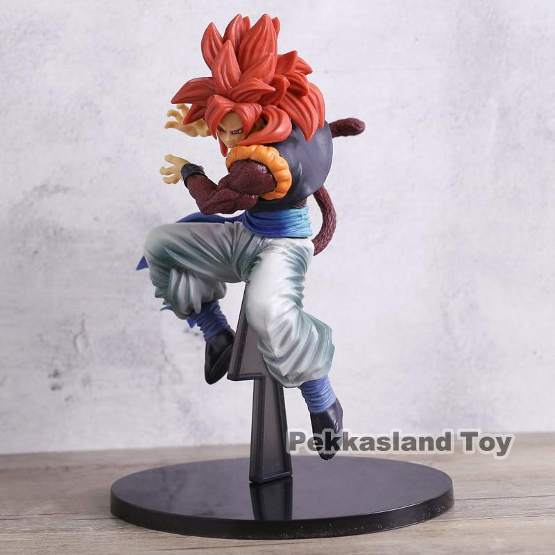 Dragon Ball Z GT SCultures Gogeta Super Saiyan 4 SS4 Red Hair Colosseum Figure