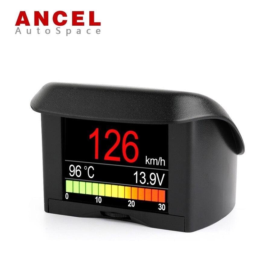Prix pour ANCEL A202 Smart OBD Gauge Mini Spectacle De Voiture Compteur de Vitesse Eau Liquide de Refroidissement Du Consommation Température de Carburant Tension Affichage OBD2 Outil D'analyse