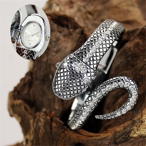 Marca de Luxo Relógios de Pulso de Quartzo Relógios de Prata d para Mulheres Pulseira Moda Senhoras Criativas Relógio Feminino A117 g &