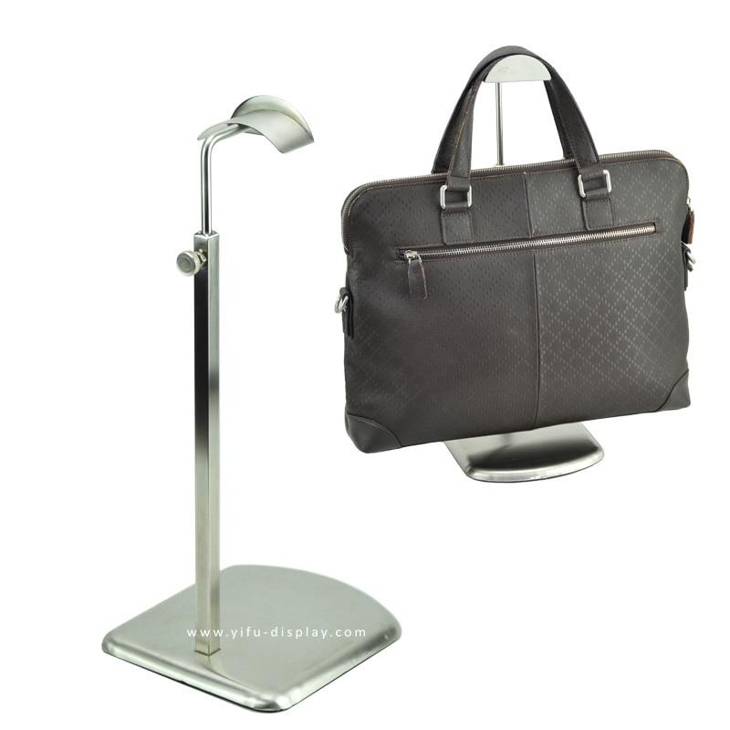 Šepečiu padengtas sidabrinės rankinės pakabos stendas, didmeninė - Organizavimas ir saugojimas namuose - Nuotrauka 2