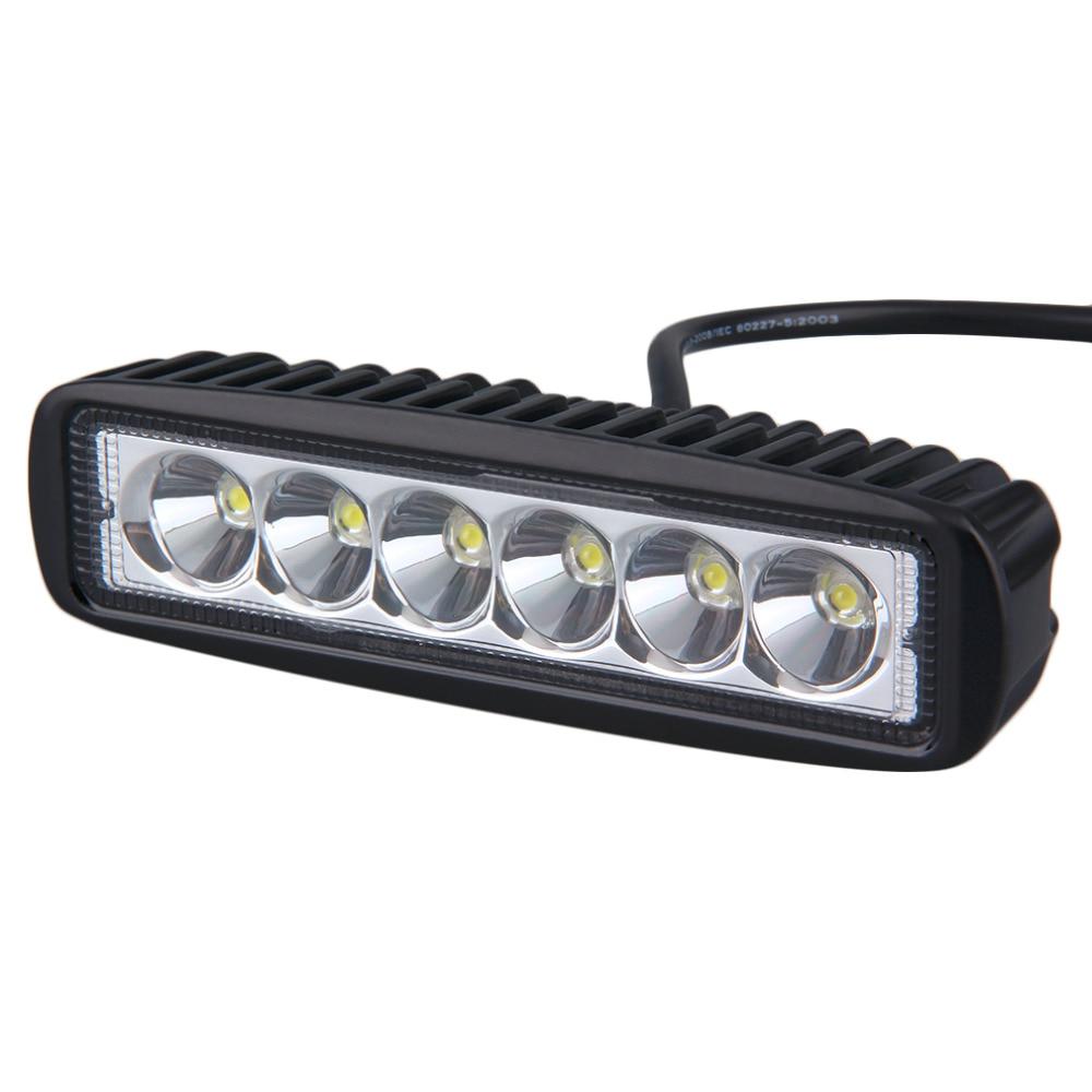 6 zoll Mini 18 Watt Led-lichtleiste 12 V 24 V Motorrad LED Bar ...