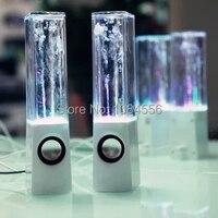 Sıcak Satış Ücretsiz Kargo Su Dans Hoparlör Müzik Çeşme Kristal renkli USB Su Püskürtme Hoparlörler müzik çeşmesi Rusya