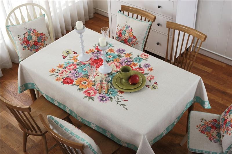 Abbiemao europese landelijke stijl tafel en stoel suite elegante