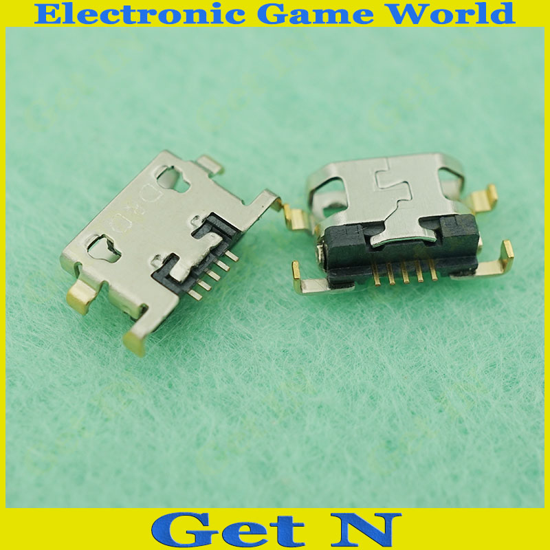 Micro USB Женский Для Зарядки Сокет Разъем для Huawei Телефон Repaire Части 10 шт./лот