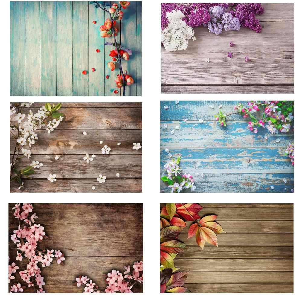 Small Size Wood Board Photography Backdrop Food Cake Photo Background Studio Photophone Photocall