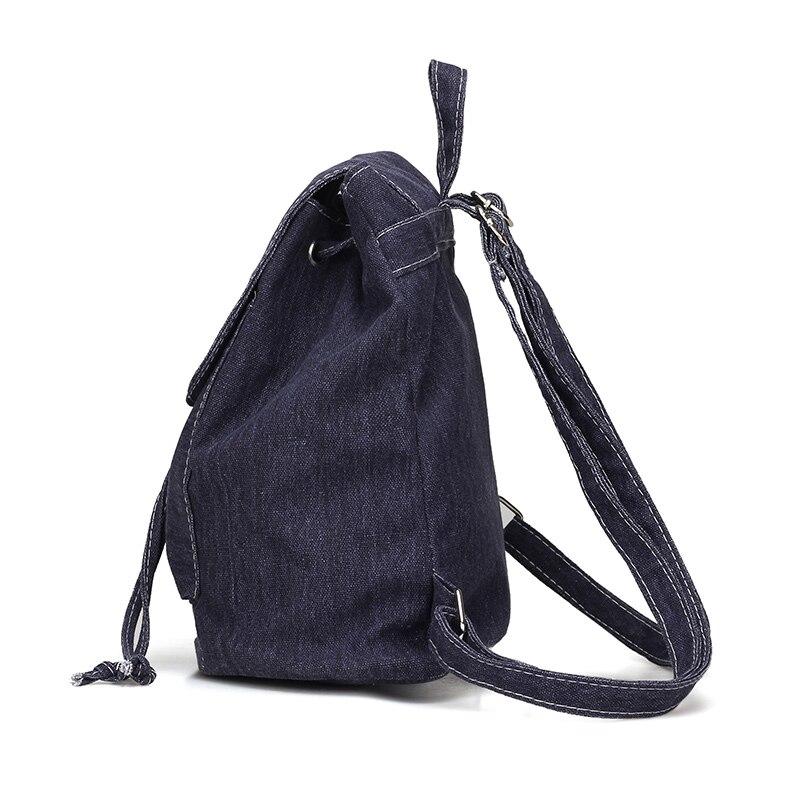 escolares sólidos jeans para adolescentes Name : Mochila Feminina School Backpack