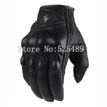 Brand Genuine Leather Motorcycle Ride Gloves motocross Racing Protective Gears Bicycle Cycling Motorbike Outdoor off-road Gloves
