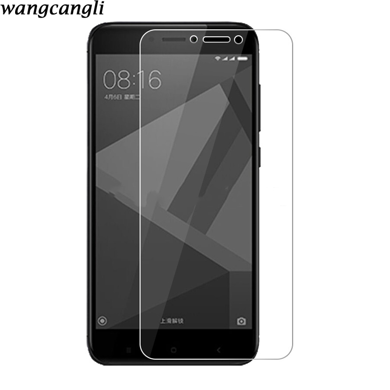 Tempered Glass For Millet Redmi 4x Screen Protector For Xiaomi Redmi Note 5 Red Protective Glass 5 Plus Red 4a 4 Pro GlassTemper