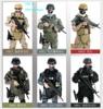 1PCS 12 1 6 SWAT SDU SEALs Uniform Military Army Combat Game Toys Soldier Set With