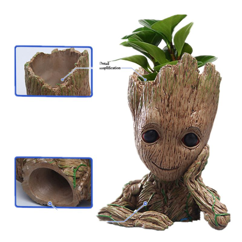 2017NEW 15cm Anime Figure Guardians of The Galaxy 2 Tree Man Baby Sitting Ver Collectible Model Toys