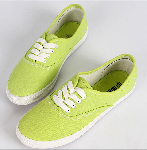 2017 весна женщины холст обувь женская повседневная обувь мода марка женщины плоские туфли женщина Кружева белые туфли Плюс размер 35-40