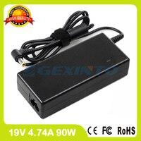 19 v 4.74a ac power adapter caricatore del computer portatile per fujitsu lifebook t580 tablet pc t725 fmv-ac504/k t730/b t730trns t731/d t732/f/g