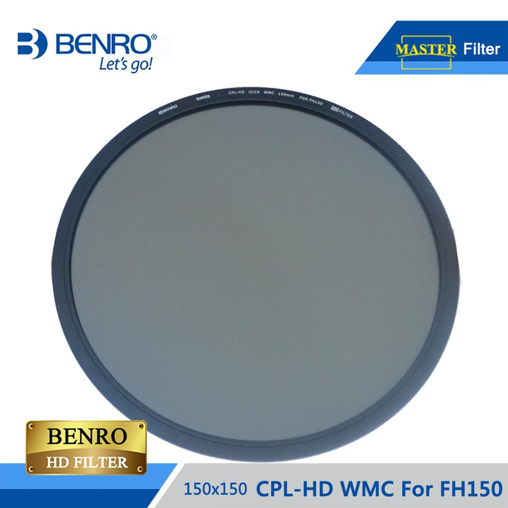 BENRO MACPL150 150mm CPL Filter MASTER CPL-HD ULCA WMC For FH150 Multi Coating Polarizing Filter Optical Glass DHL Free Shipping