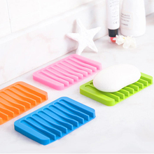 Creative leachate soap box drain Bathroom Accessories dish 11.5*8*1cm