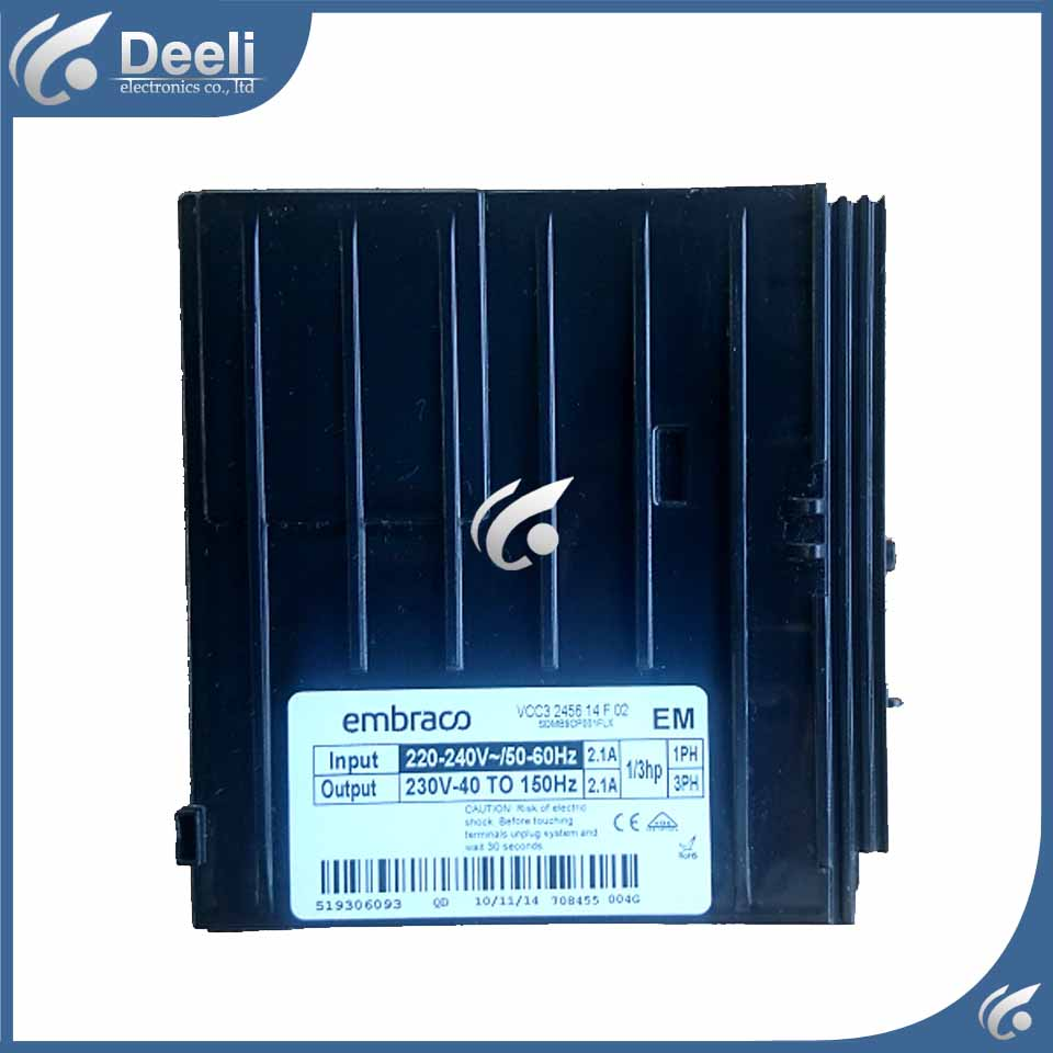 good working for refrigerator Frequency inverter board driver board VCC3 2456 14F 02 VEMY9C good working for haier refrigerator frequency inverter board driver board bcd 518w 568w 43033033085 6