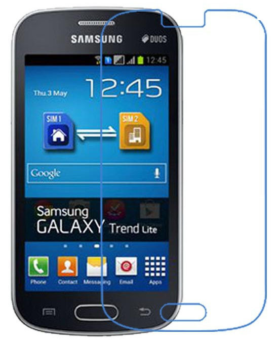 Ultra clear hd front lcd glossy screen protector screen - Protection galaxy trend lite ...