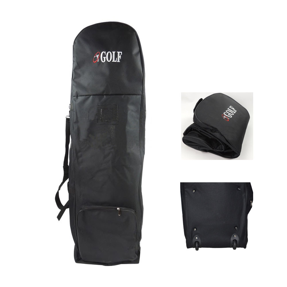 274c57258b Hot Sale Black Waterproof Nylon Golf Travel Cover Bag Shockproof ...
